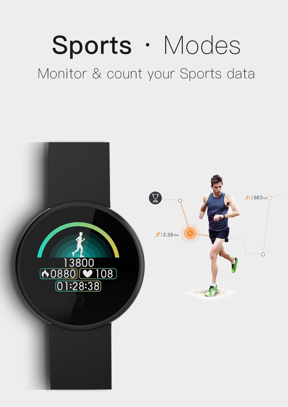 H77dcd8a4ebbf4e8f90f28a10fa60029bz SKMEI Men Smart Watch Heart Rate Sleep Monitor GPS
