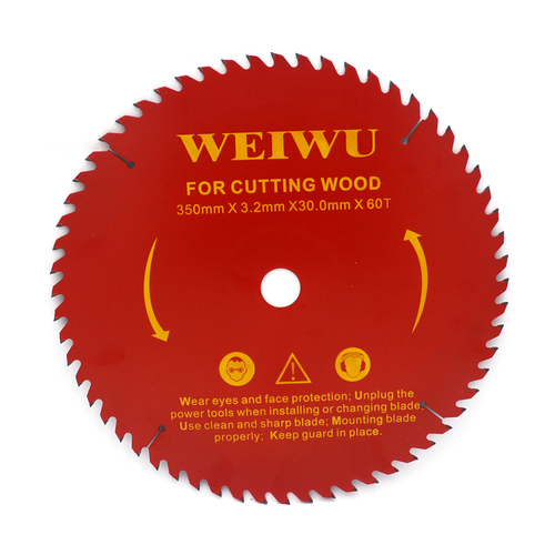 350mm 14 Inch  High Quality Circular Saw Blade Carbide Tipped Wood Cutting for cutting wood aluminum brush and shrubs 60/80Teeth