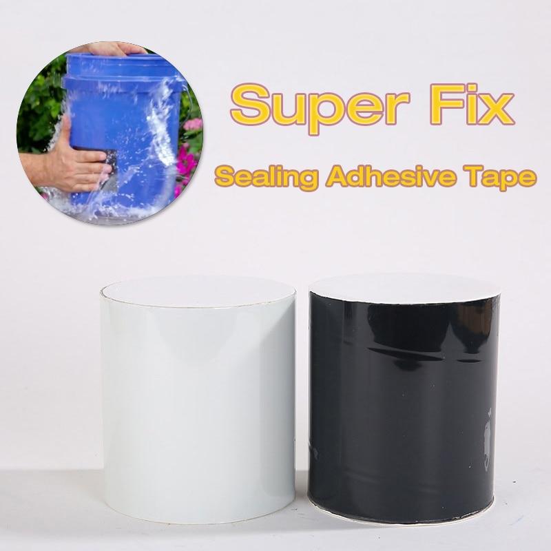 152X30cm 20cm Super Strong Fiber Waterproof Tape Stop Leaks Seal Repair Tapes Performance Super Fix Tape Fiberfix Adhesive Tape