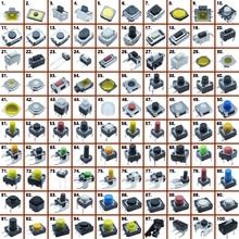 500 sztuk różne przyciski i guziki mikroprzełącznik dotykowy zestaw pilot samochodowy Tablet naprawa komputera pakiet dotykowy złącze Interruptor