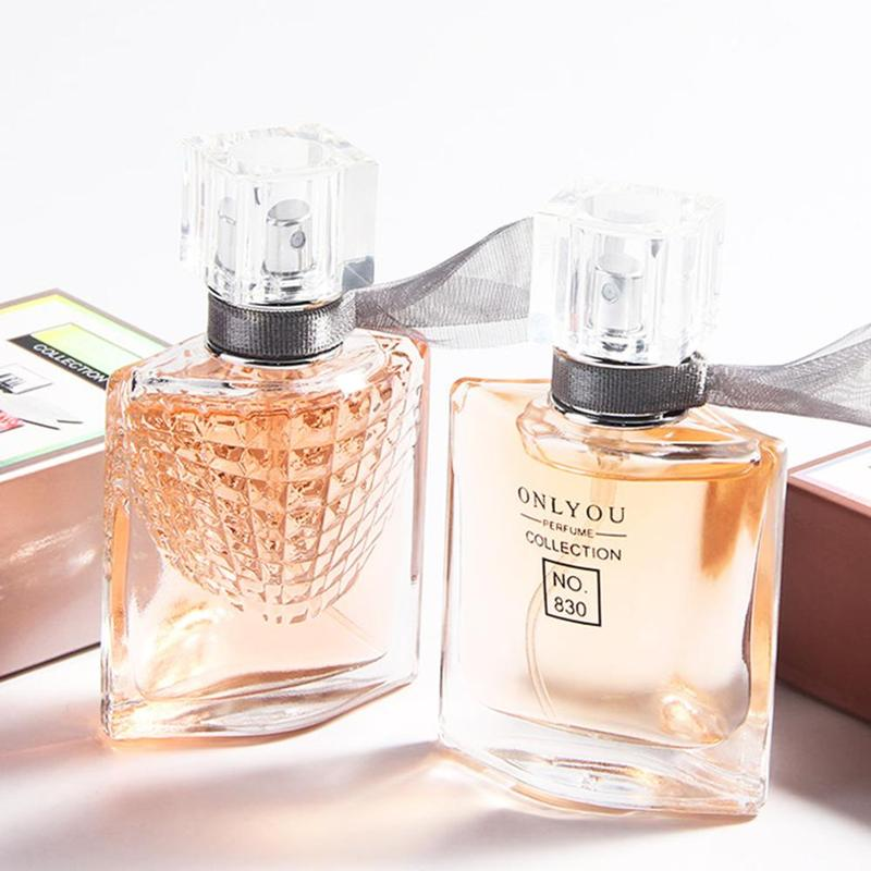 30ml Fragrance Long Lasting Freshener Parfum Atomizer Spray Glass Bottle For Lady Parfum Men Deodorization