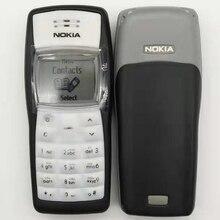 Самый дешевый мобильный телефон Nokia 1100 разблокированный GSM900/1800 MHz мобильный телефон с несколькими языками 1 год гарантии отремонтированный