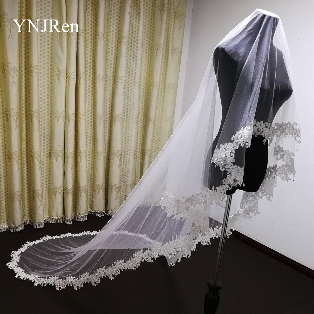 Купить 2020 настоящая фотография 3 метры свадебная вуаль полный деколь