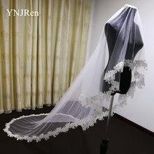 2020 настоящая фотография 3 метры свадебная вуаль полный деколь