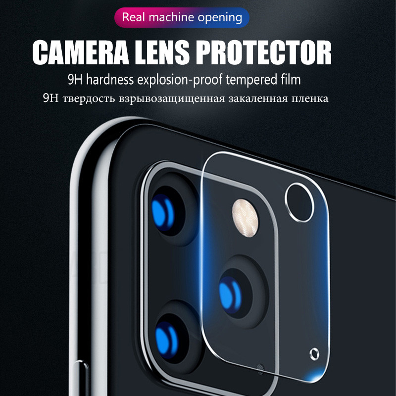45D Full Cover Camera Screen Protector For iPhone 7 11 Pro XR XS Max Tempered Glass 5