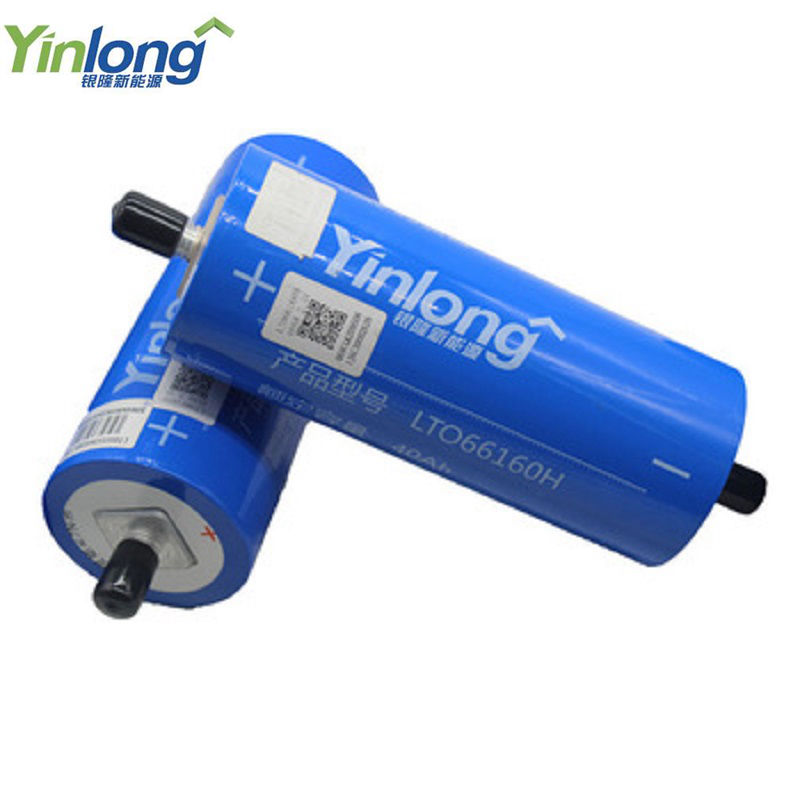 Original Yinlong <font><b>66160</b></font> 2.3V 40Ah Lithium Titanate LTO battery cell 6pcs a lot DIY Lto for E-bike Automobiles Buses Railroad Cars image