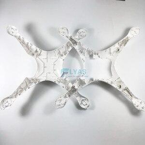 Image 5 - Orijinal DJI Phantom 4 vücut kabuk üst orta kapak iniş takımı pusula DJI Drone için yedek parçalar