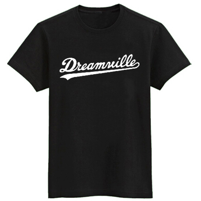J.COLE Same Style T Shirts Short Sleeve T-shirt Dreamville Tee Shirt Hip Hop T Shirt Men Brand Jermaine Cole Tshirt Cotton