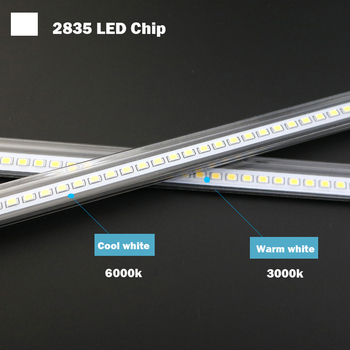 LED Bar Light AC220V High Brightness LED Tube 50cm 30cm 20cm SMD 2835 LED Rigid Strip Energy Saving LED Fluorescent Tubes 5PCS 1