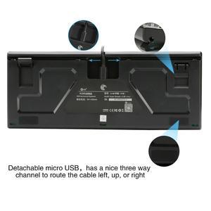 Image 5 - Z88 RGB Backlit Kleine Mechanische Tastatur Outemu Schalter Tenkeyless Keine Zahl Pad 81 Tasten Mini Gaming Tastatur für Schreibkraft Gamer