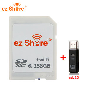 Image 5 - 2019 ใหม่ 100% ต้นฉบับความจุจริง EZ หุ้น WiFi SD Card Reader 32G 64G 128G c10 สำหรับกล้องจัดส่งฟรี