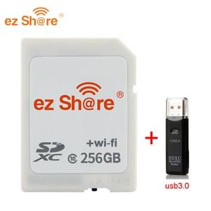 Image 5 - 2019 New 100% original Real Capacity Ez Share Wifi Sd Card Memory Card reader 32G 64G 128G C10 for Camera free Shipping
