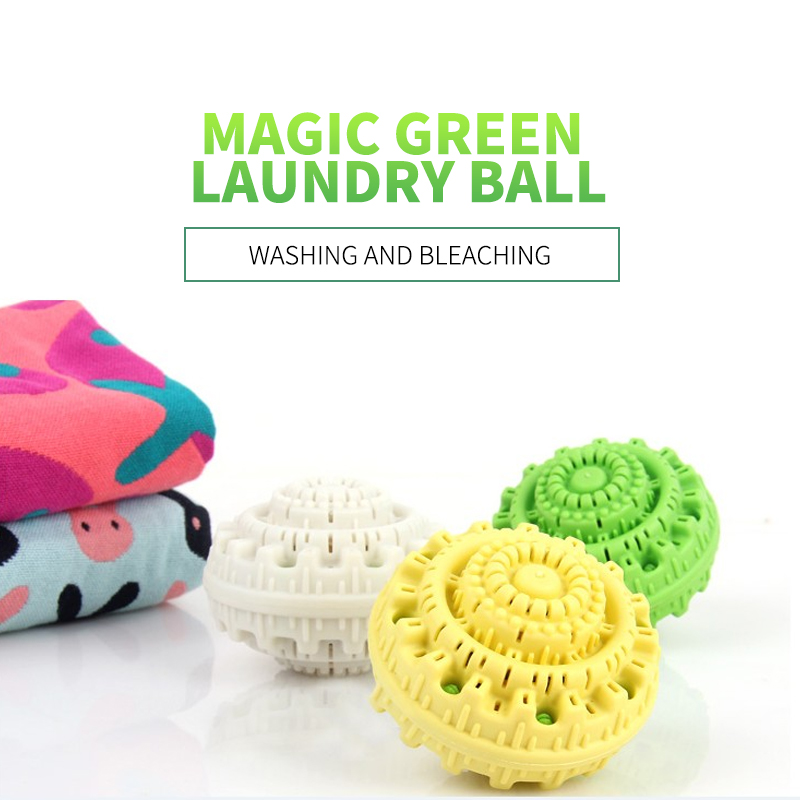 Eco-friendly Green Magic Laundry Ball Reusable No Detergent Magic Washing Personal Care Cleaning Tool Clean Supplies