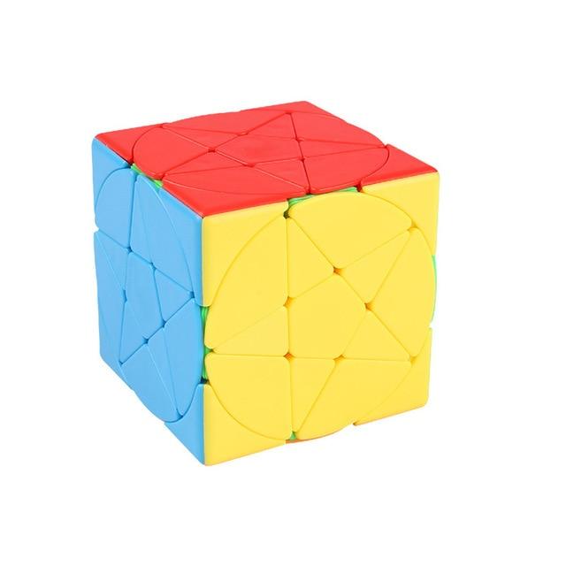 Magic Pentacle Cube Profissional Strange-shape Stars Pentagram Magic Cube Competition Speed Puzzle Cubes Toys For Children Kids 3