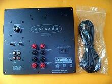 Panneau d'amplificateur de caisson de basses actif 200W, 8 pouces, haute puissance, filtre passe-bas HIFI intégré, 1.0