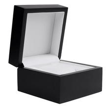 Wooden Watch Organizer Box Jewelry Bracelet Storage Gift Case Single Grid 11.5 x 11.5 x 8cm цена