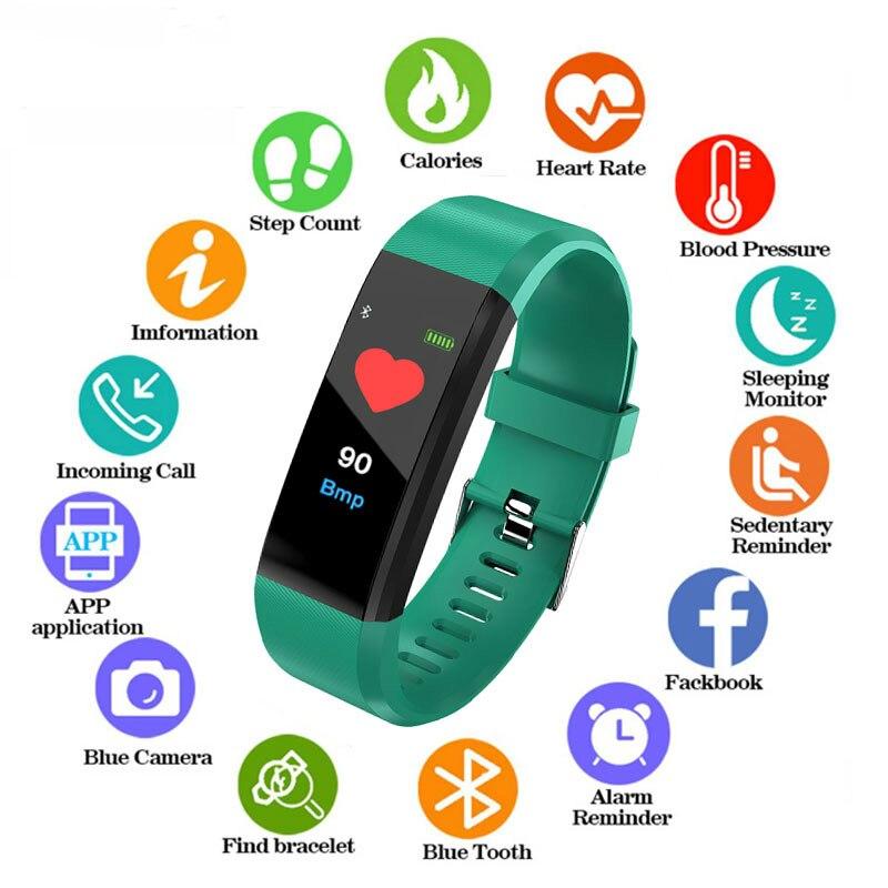 New Waterproof Womens Watch LED Digital Sport Watch For Boys Girls Men Women Electronic Sport Bracelet Clock For Android IOS