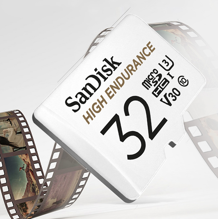 Карта памяти SanDisk Micro SD 32 ГБ, 64 ГБ, 128 ГБ, 256 ГБ, профессиональная TF-карта с адаптером для камеры DVR