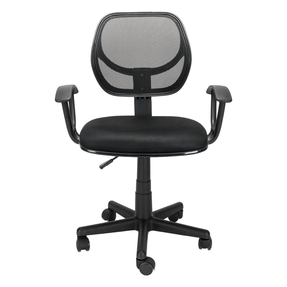 Mesh Breathable Office Computer 360 Rotation Chair Household Students Swivel Chair Conference Chair Staff Rolling Pulley Chair