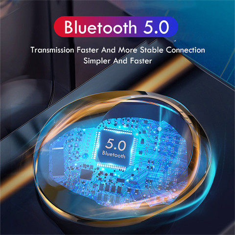 Bluetooth 5.0 Earphones TWS Wireless Bluetooth Earphone Touch Control Wireless Headphones 3000mAh Charging Case For IOS Android Karachi