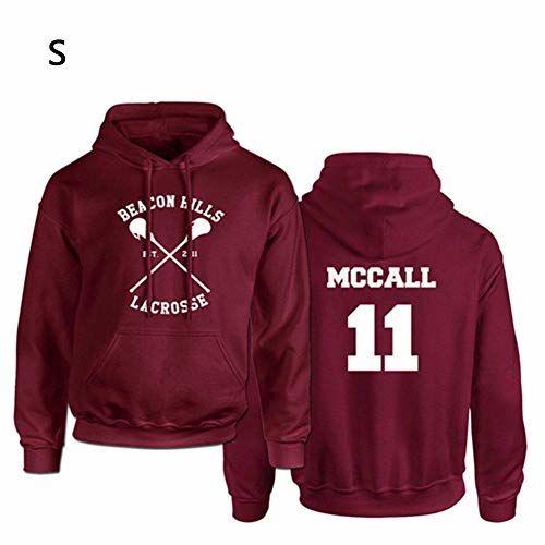IBaste_top Suéter Con Capucha Beacon Hills Lacrosse Hoodie Teen Wolf MCCALL Stilinski Lahey Sudadera Unisex