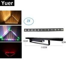12X5W CREE LEDS LED Luz de lavado de pared barra LED DMX línea Bar etapa de lavado luz RGBW colores haz lavar luz estroboscópica Dj equipos