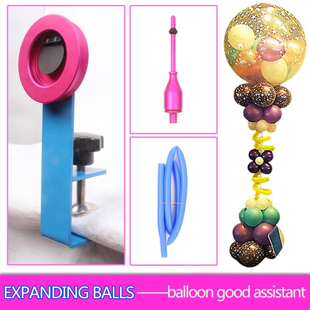 1set Expanding Stuffer balloons Machine Birthday Wedding Party Ballon Expander Tool Ballons Pump Accessories