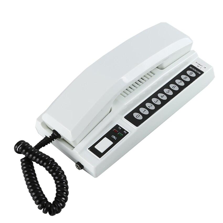 Wireless Intercom System Secure Interphone Two-way Phone Intercom home security audio door phone Intercom Doorbell System 1PC