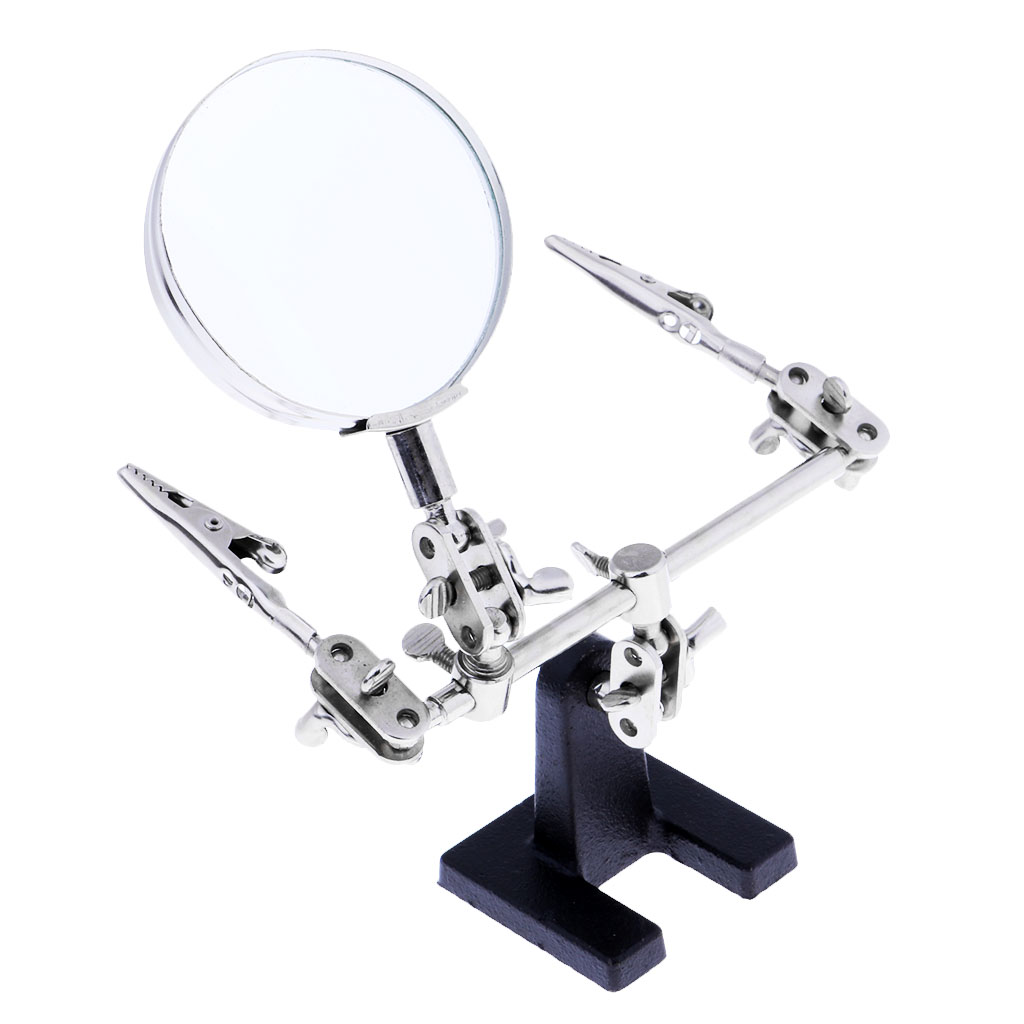 Mega Discount 35019 Helping Hands Magnifier Hand Free Helper Modeling Crafting Tool 3 5x Lens Cicig Co