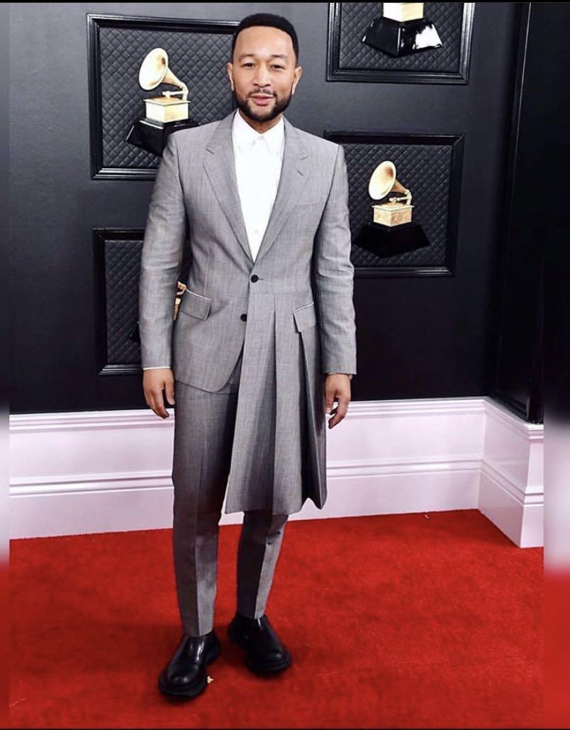 New Arrival Grey Irregular Men Suits Costume Groom Tuxedos Notch Lapel Wedding Terno Masculino Slim Fit 2 Pieces (Jacket+Pants)
