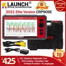 Launch x431 crp909E obd2 scanner full systems auto code reader wifi diagnostic tool OBDII EOBD automotive tool pk crp909 mk808
