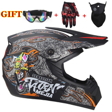 2019 Professional Motorcycle Helmet Racing Motocross Casque hors route Casque Mo