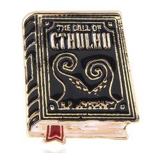 The Call Of Cthulhu Badge Brooch Book Literature Enamel Pins Brooches For Women Men Lapel Pin Jewelry Gift(China)