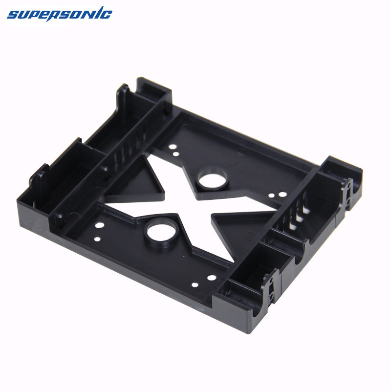 5.25 Optical Drive Position to <font><b>3.5</b></font> Inch <font><b>2.5</b></font> Inch <font><b>SSD</b></font> 8CM Fan HDD Adapter Tray Bracket Dock Hard Drive Holder for PC Enclosure image