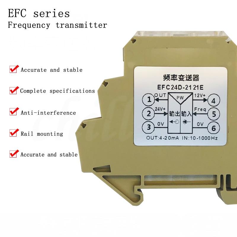 Передатчик сигнала частоты импульса, модуль преобразования квадратных волн, напряжение тока 4-20 мА, выход 0-10 в