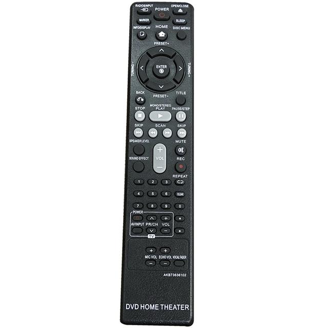 Do LG DVD pilot kina domowego AKB73636102 wymiana tanie i dobre opinie NONE CN (pochodzenie)