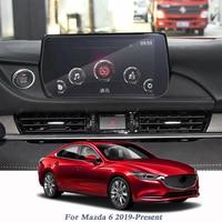 Voor Mazda 6 Atenza 2019-Present Auto Styling Display Film GPS Navigatie Screen Glas Beschermende Film Controle van LCD screen