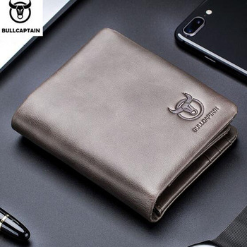 Men Wallet Cowhide Wallets Coin Purse Clutch Top Quality Leather small zipper wallet card bag Retro Short Wallet clutch фото