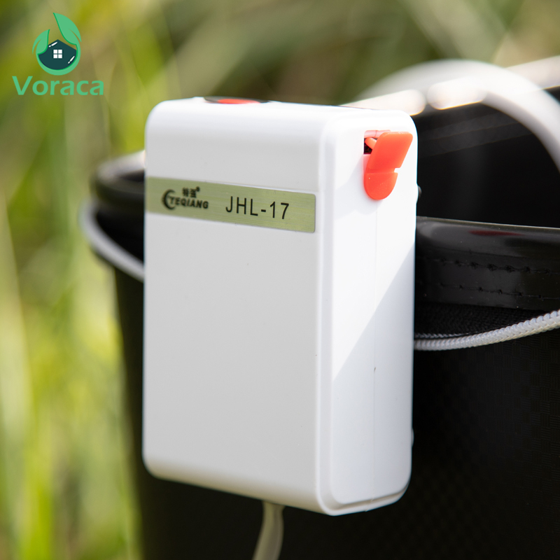 USB Charging Air Pump Super Mute Rechargeable Lithium Battery Power Oxygen Air Compressor Aquarium Fish Tank Outdoor Fishing