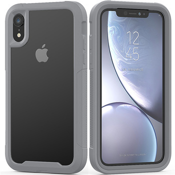 Military Shock Absorption Case For iPhone 12 11 X XR XS Max Transparent Ultra-Thin PC+TPU Protective Case For iPhone 6S 7 8 Plus 1