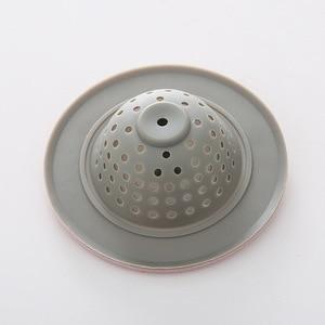 Image 5 - Filtro de silicone para pia e chuveiro, 2 peças, filtro de silicone para drenagem de esgoto, 4 cores opcional