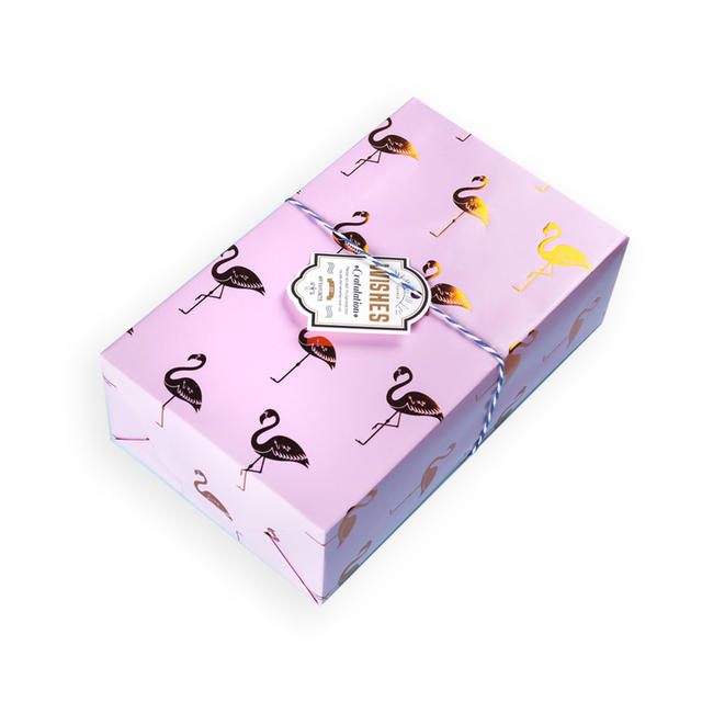 Flamingo Printed Wrapping Paper