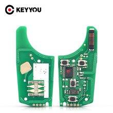 KEYYOU 2/3/4 кнопки 433 МГц для Chevrolet Malibu Cruze Aveo Spark Sail с дистанционным управлением ID46, Электронная печатная плата