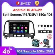 JMCQ Android 9.0 2GB + 32GB DSP Mobil Radio Multimidia Video Player GPS Navigasi untuk Hyundai Santa Fe 2 2006-2012 2din Head Unit(China)