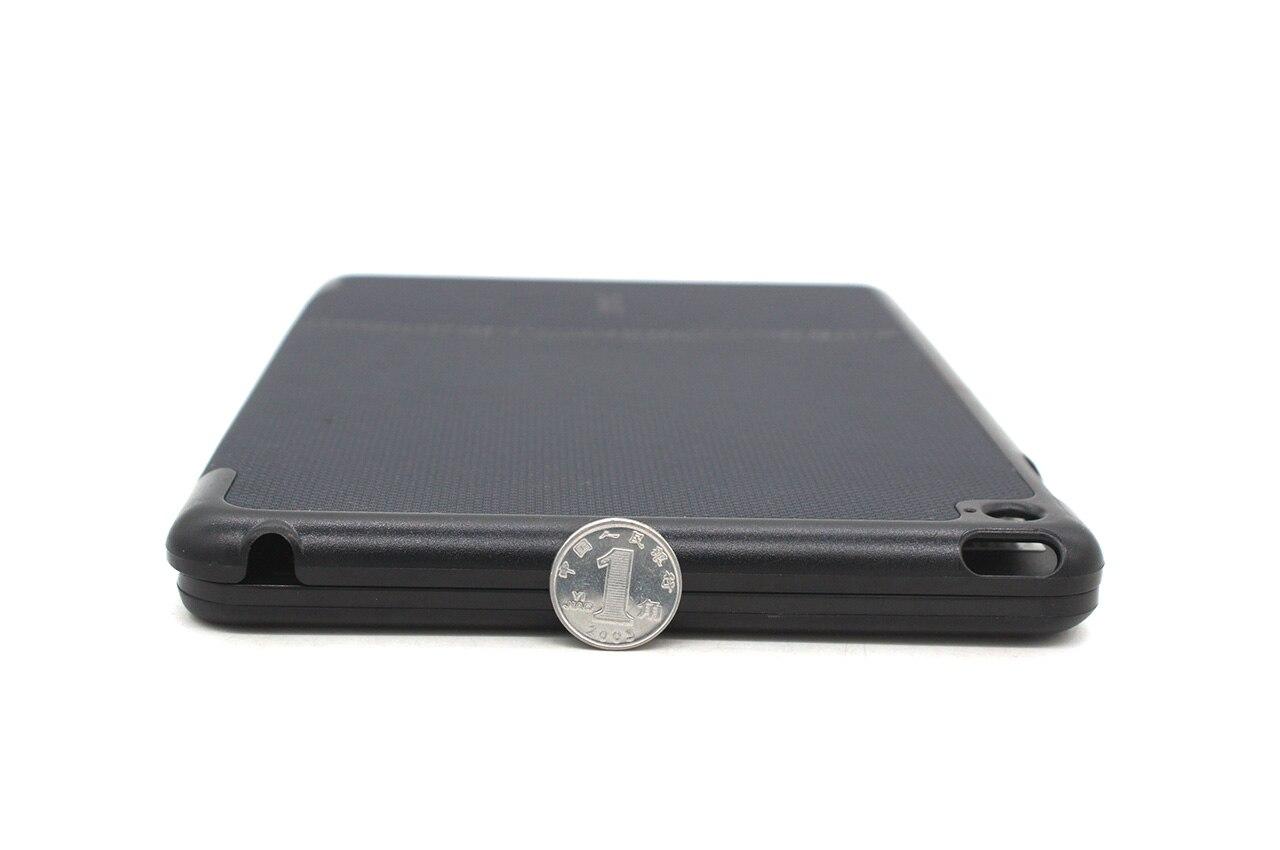 ZAGG Folio Case Ipad Mini 4 A1538 A1550 蓝牙无线键盘保护套七彩背光QTG-ZKIS Broadcom 3.0 Bluetooth Wireless Keyboard