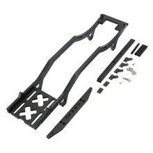 цена на 2019 RC Car Body Frame RC Car Parts Metal Frame Girder for 1/10 SXC10 SXC10II D90 D110 RC Car Off-road Rock Crawler