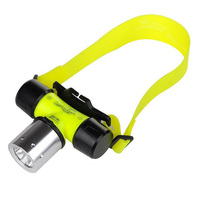 Asafee Diving Headlight 50M 800Lm Xml T6 Led Headlight Waterproof Underwater Dive Light Flashlight Flashligh|Outdoor Tools| |  -