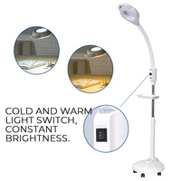 16X Diopter LED Magnifying Floor Stand Lamp Magnifier Glass Cold Ligth Len Facial Light For Beauty Salon Nail Tattoo
