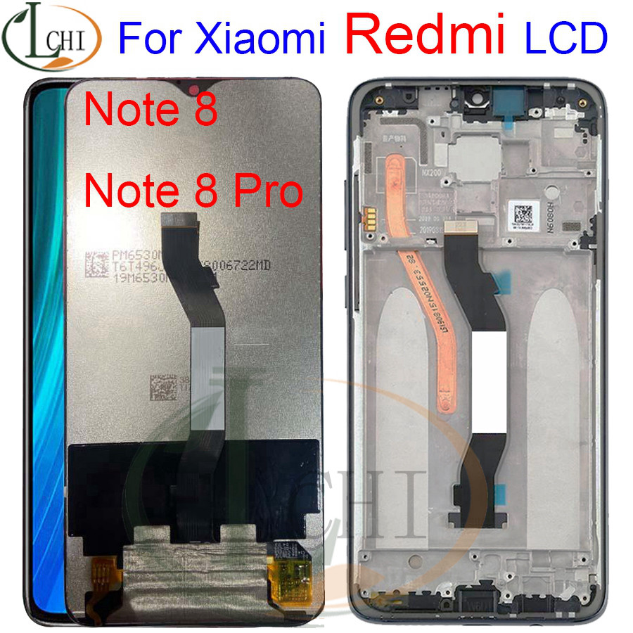Original For <font><b>Xiaomi</b></font> <font><b>Redmi</b></font> Note <font><b>8</b></font> Pro LCD 8Pro M1906G7I <font><b>Display</b></font> Touch Screen Replacement For <font><b>Redmi</b></font> Note <font><b>8</b></font> LCD M1908C3JH Digitizer image
