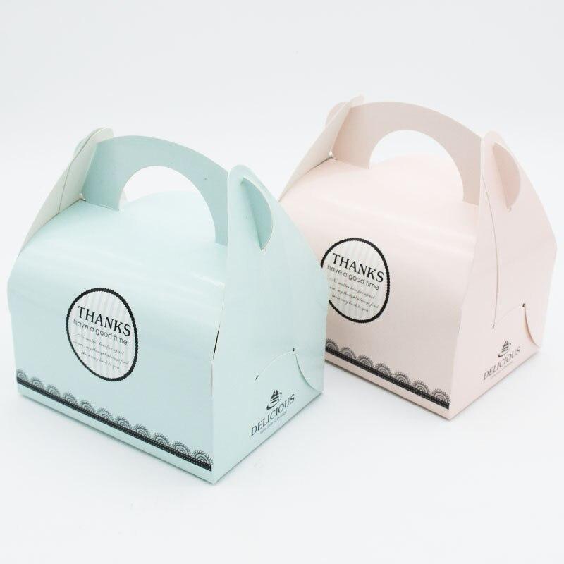 Noël père noël cadeaux support boîtes à bonbons faveur papier biscuits Biscuit alimentaire emballage boîte gâteau emballage fête mariage décor